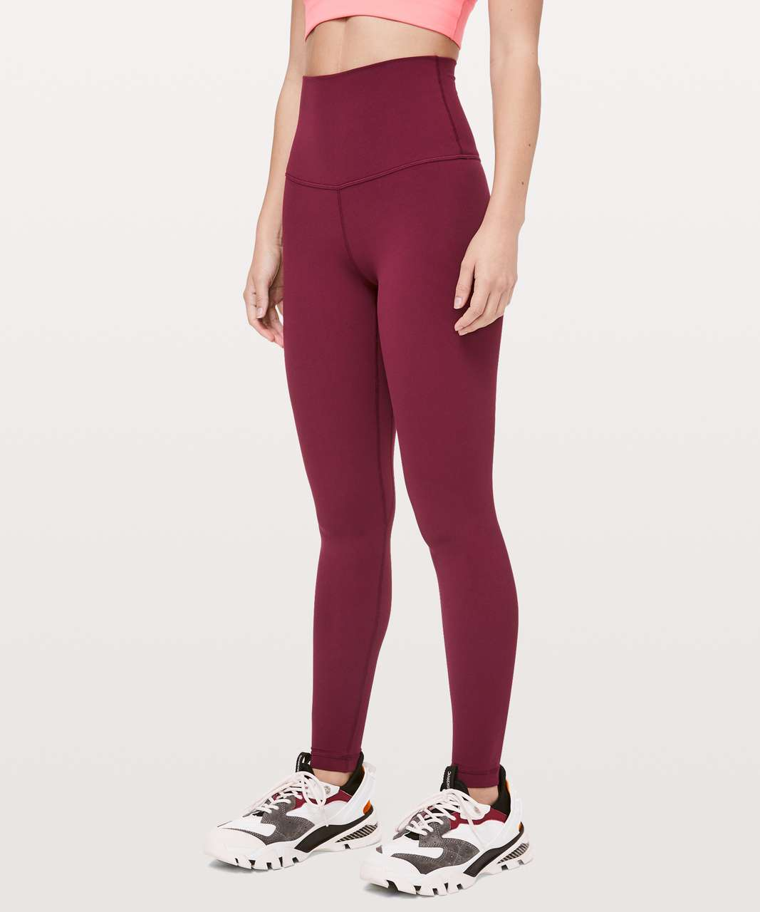 "Lululemon Align Pant Super High-Rise 28"" - Deep Ruby"