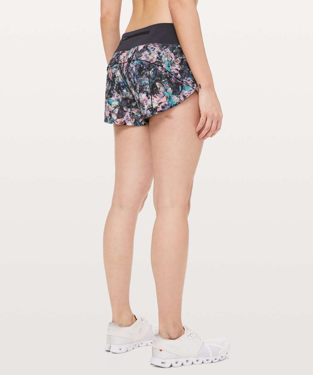 "Lululemon Speed Up Short *2.5"" - Dappled Daze Multi / Obsidian"