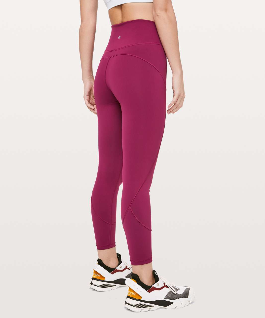 "Lululemon In Movement 7/8 Tight *Everlux 25"" - Star Ruby"