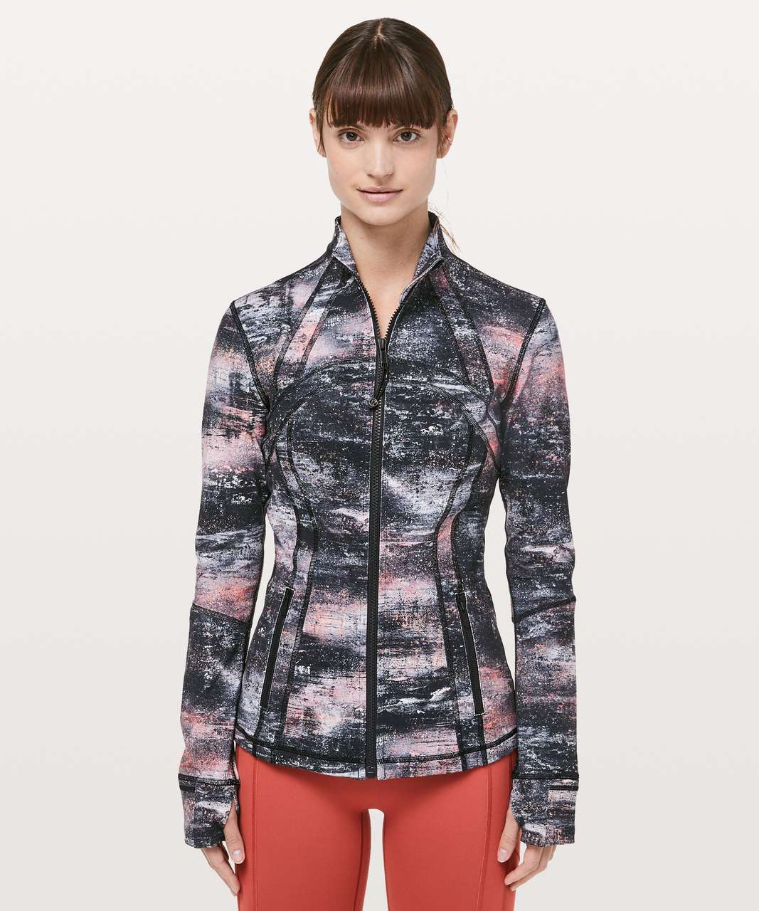 Lululemon Define Jacket - Azurite Poppy Coral Multi