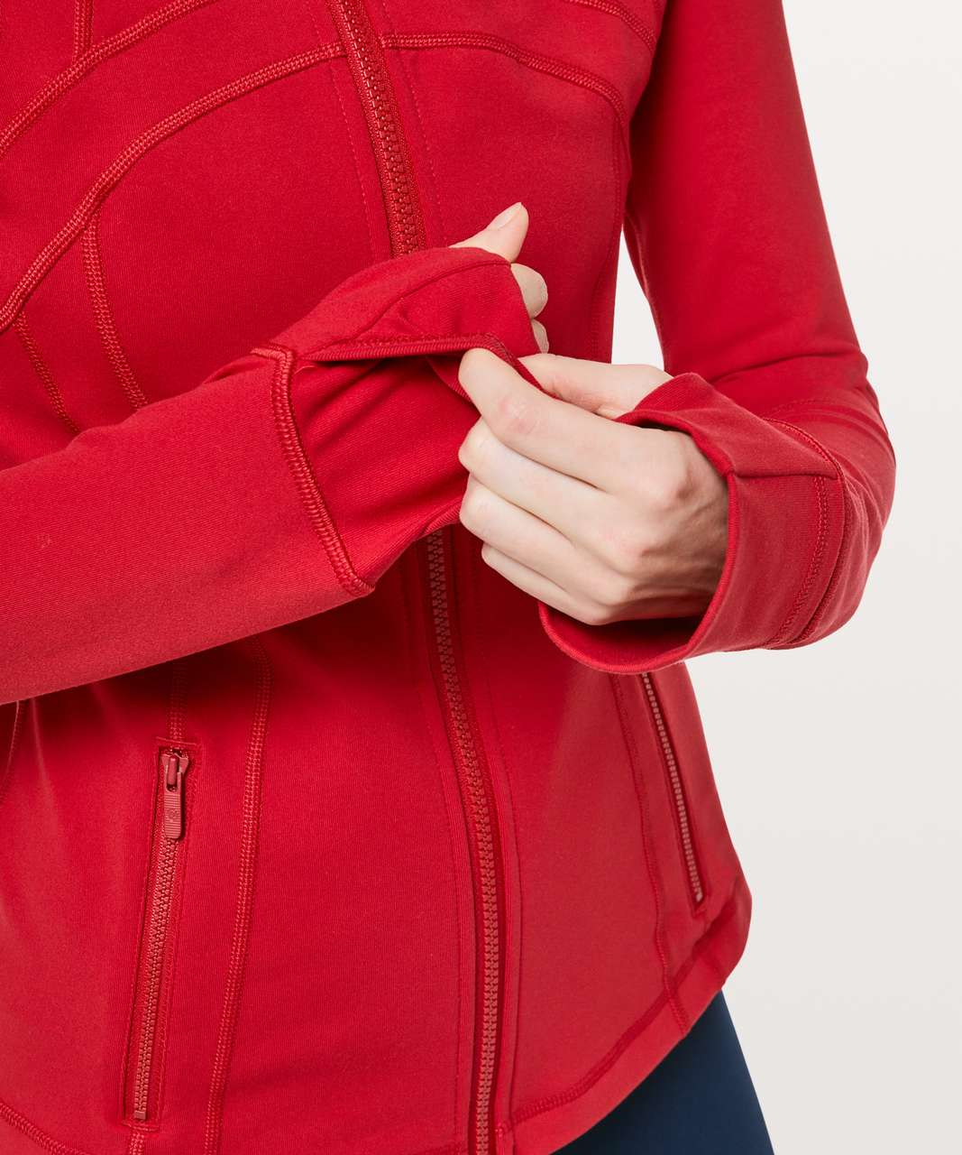Lululemon Define Jacket - Dark Red