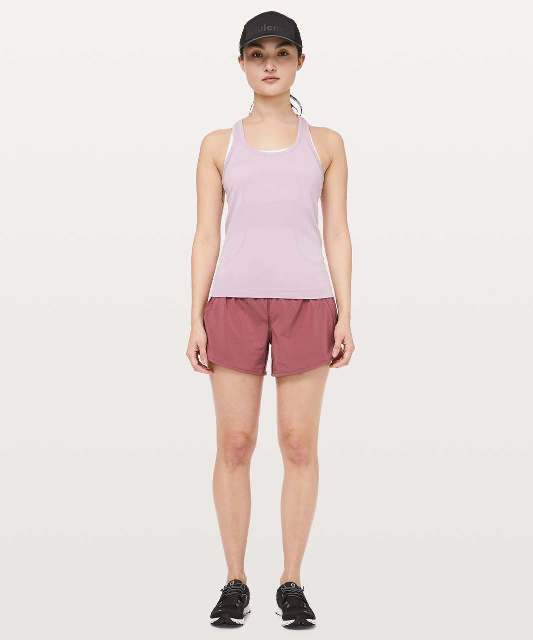 "Lululemon Tracker Short V *4"" - Misty Merlot"