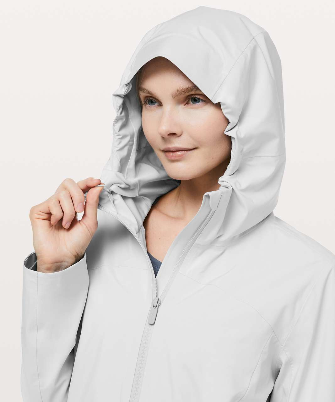 Lululemon Rain Rebel Jacket - Light Chrome