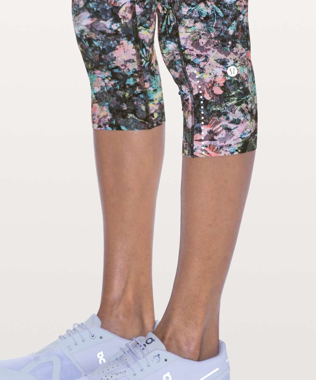 "Lululemon Fast & Free Crop II *Nulux 19"" - Dappled Daze Multi"