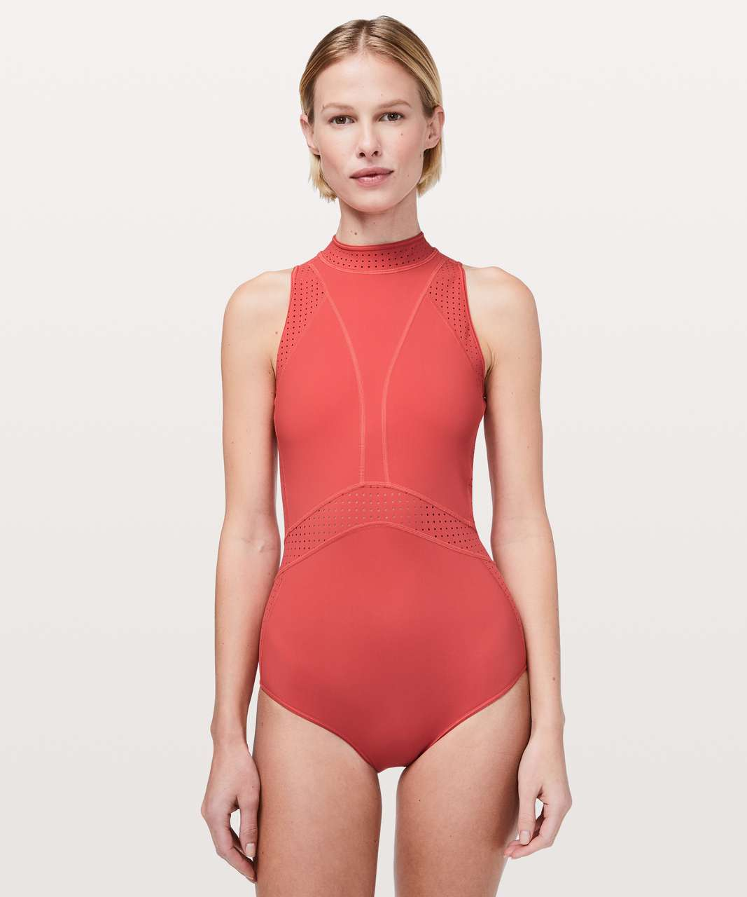 Lululemon Beach Break Paddlesuit - Poppy Coral