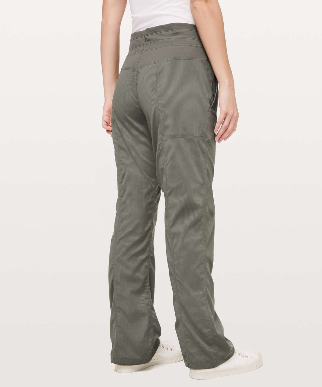 "Lululemon Dance Studio Pant III (Regular) *Unlined 32"" - Grey Sage"
