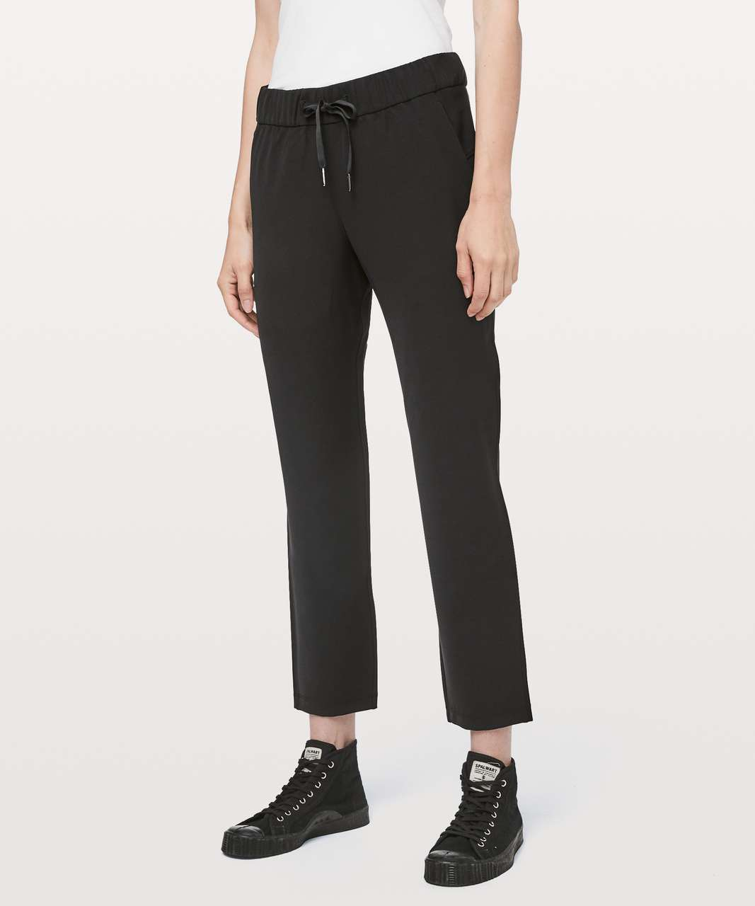 "Lululemon On The Fly Pant *Woven 27"" - Black"