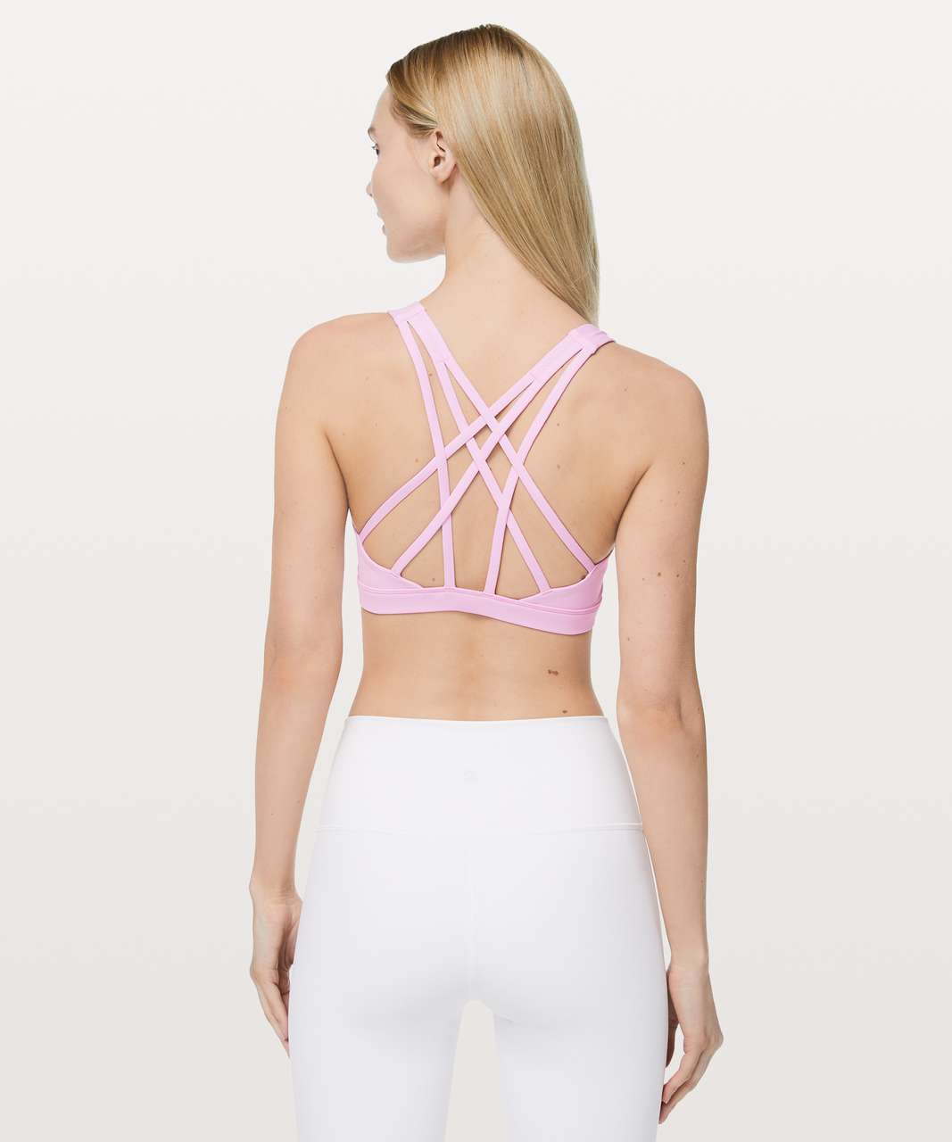 Lululemon Free To Be Serene Bra - Cherry Blossom Pink