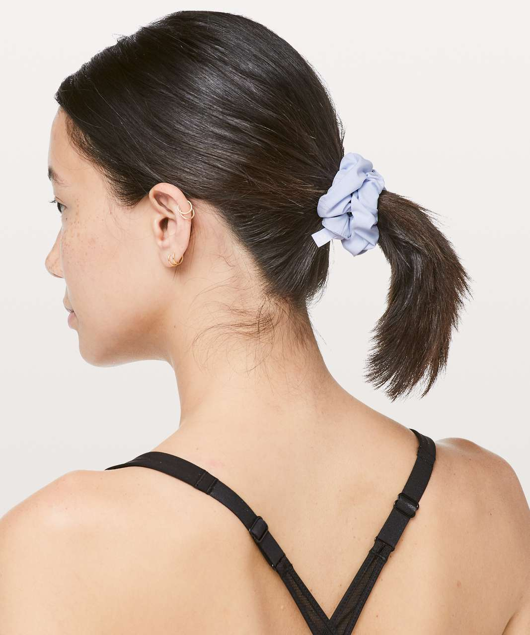 Lululemon Uplifting Scrunchie - Serene Blue (First Release)