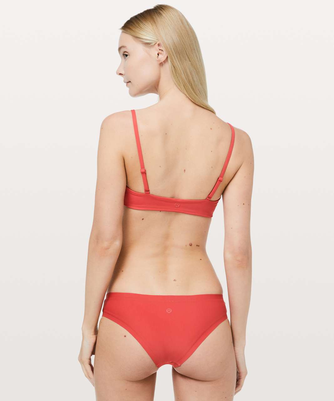 Lululemon Tied To Tide Swim Top - Poppy Coral