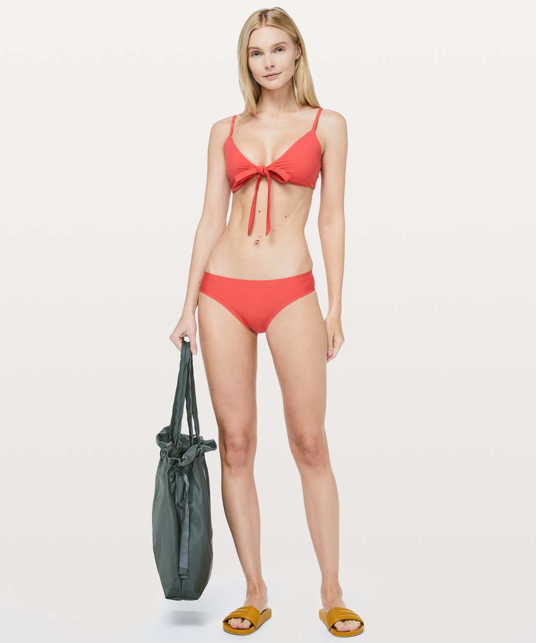 Lululemon Tied To Tide Swim Top - Poppy Coral