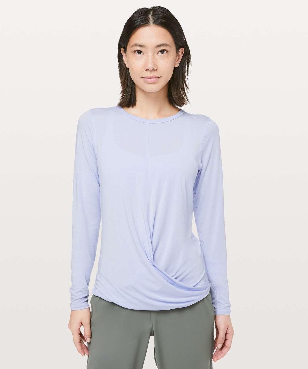 Lululemon Serene Saturday Long Sleeve - Serene Blue