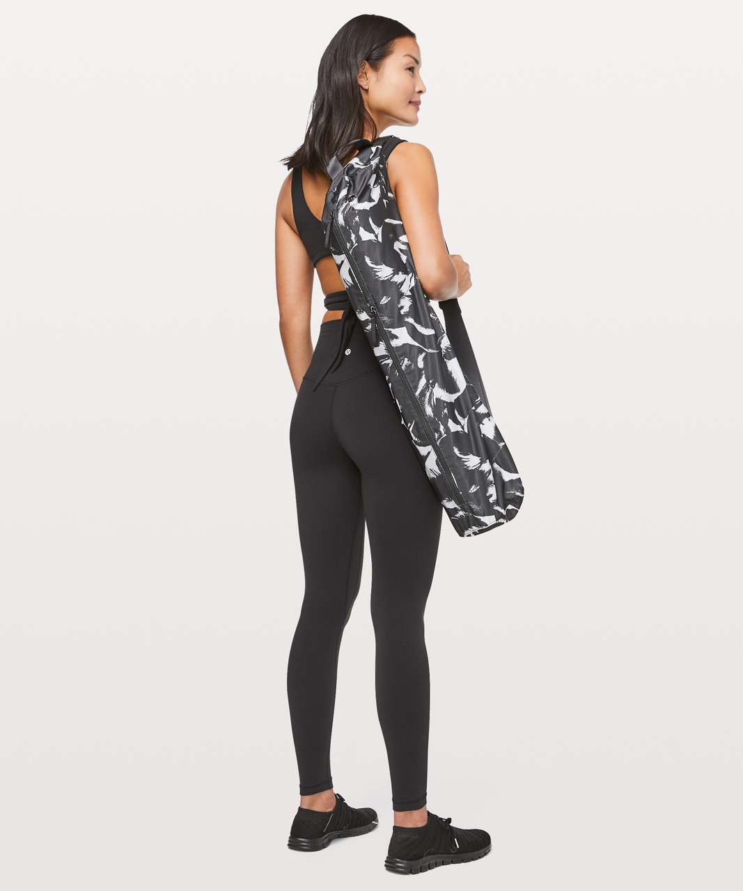 Lululemon Get Rolling Yoga Mat Bag *17L - Midi Flower Pop Starlight Deep Coal