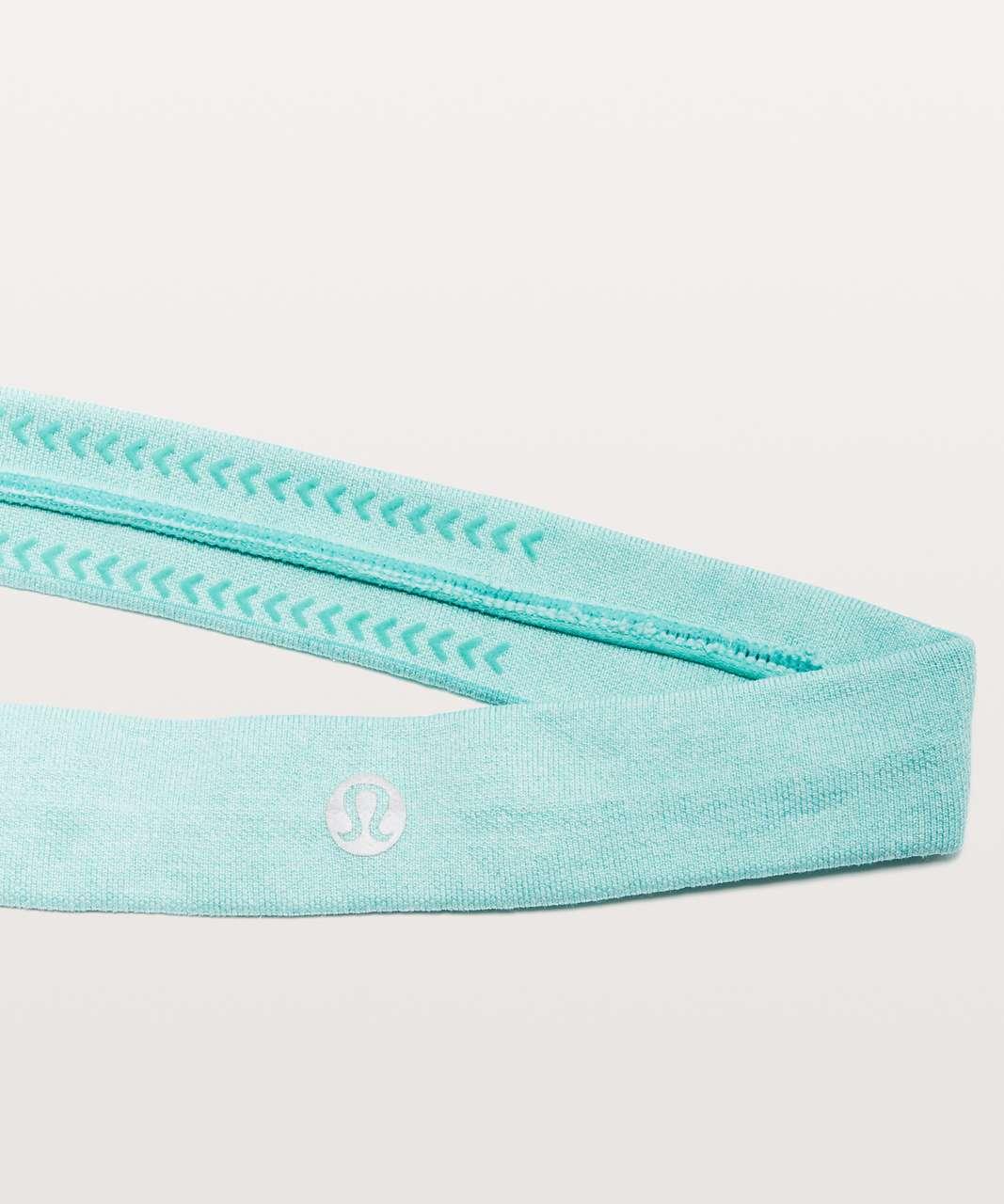 Lululemon Cardio Cross Trainer Headband - Bali Breeze / White