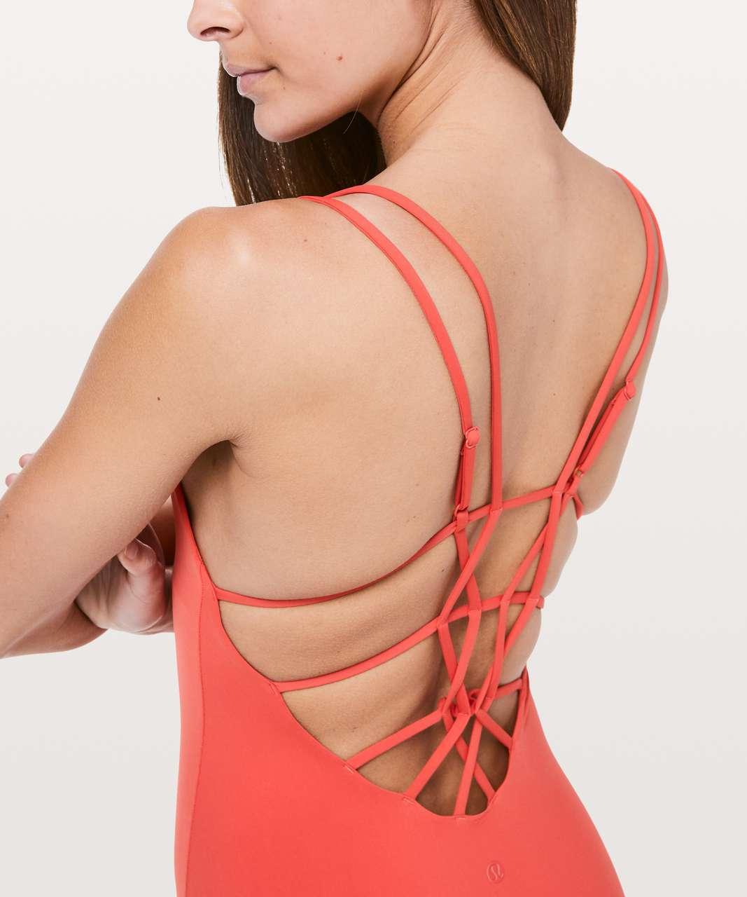 Lululemon Coastline One Piece - Poppy Coral