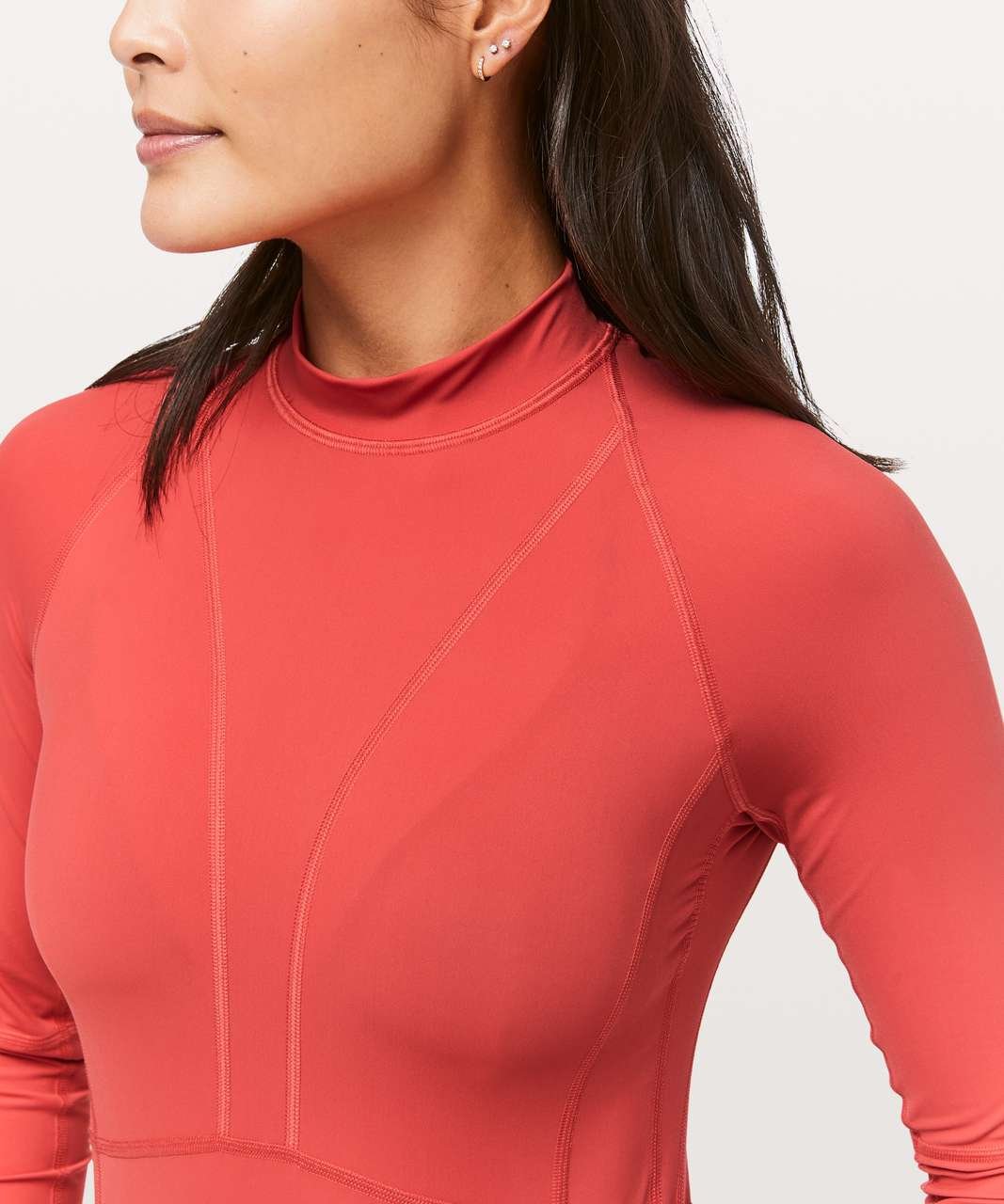 Lululemon Beach Break Rashguard - Poppy Coral