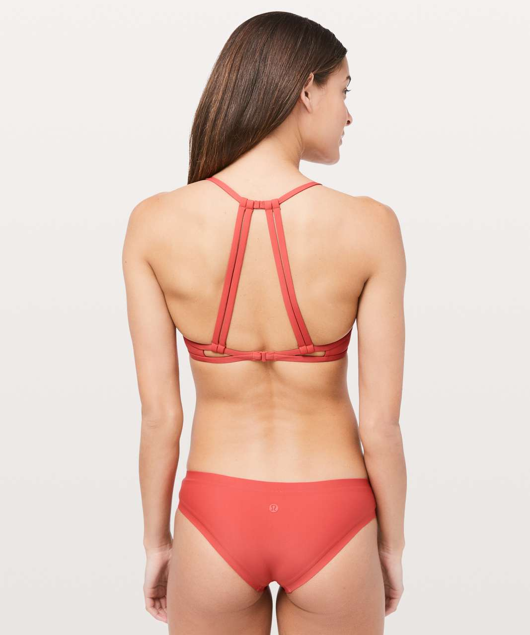 Lululemon See The Sea Swim Top - Poppy Coral