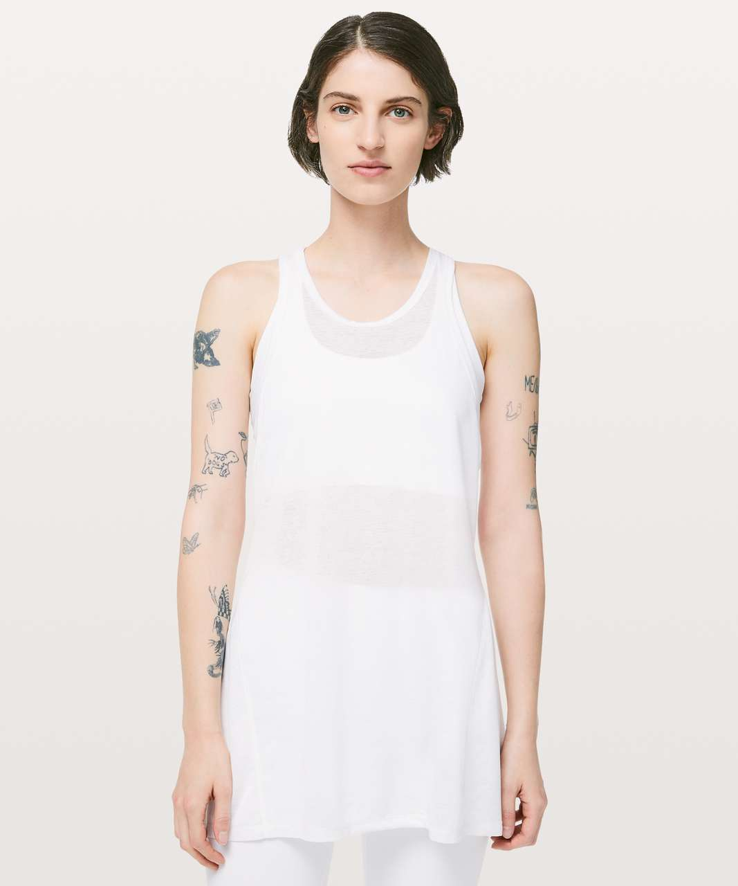 Lululemon Goal Up Tank - White