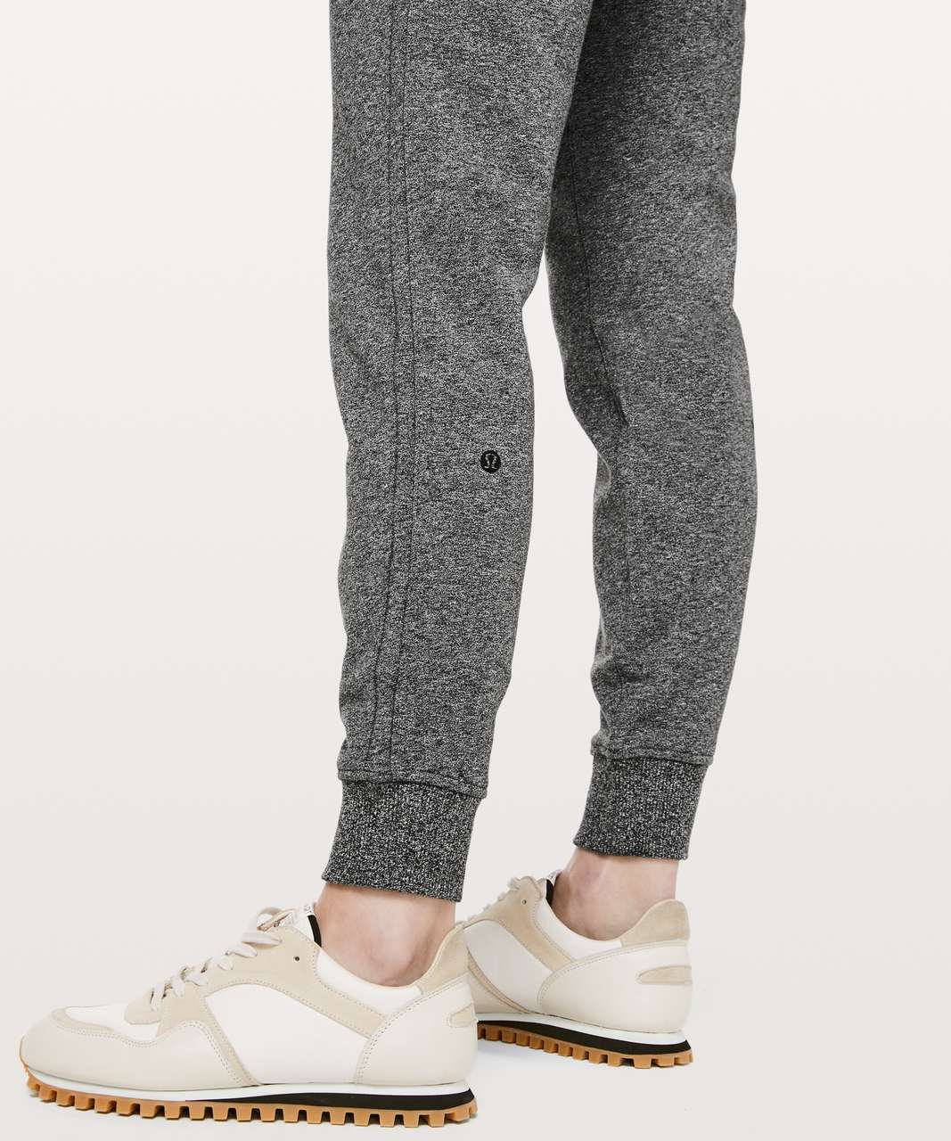 "Lululemon Warm Down Jogger II *28"" - Heathered Speckled Black"
