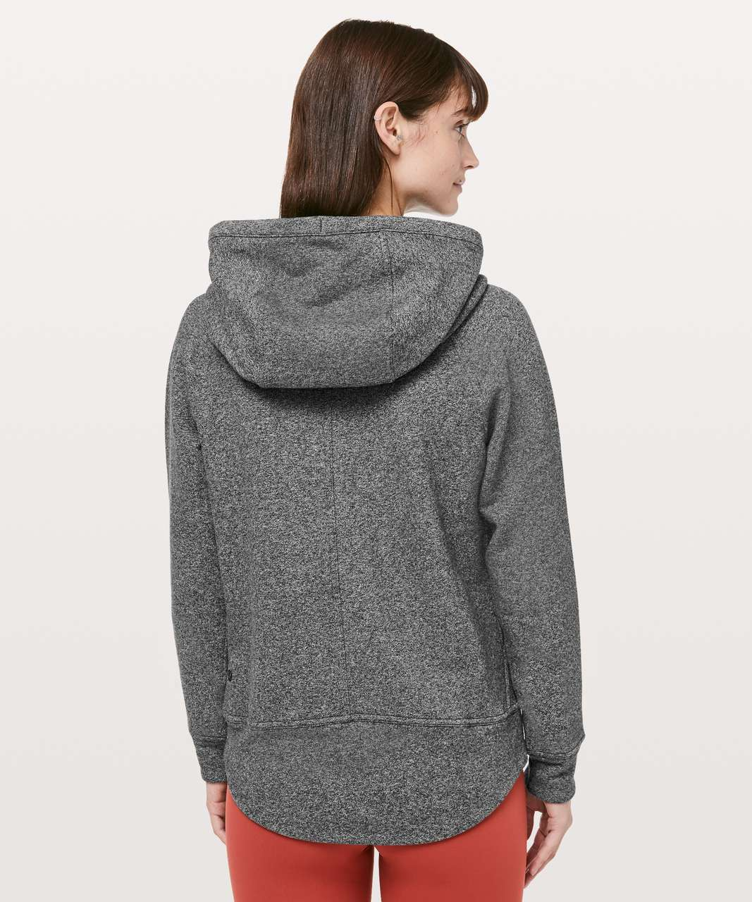 Lululemon Catch A Moment Hoodie - Heathered Speckled Black / Black