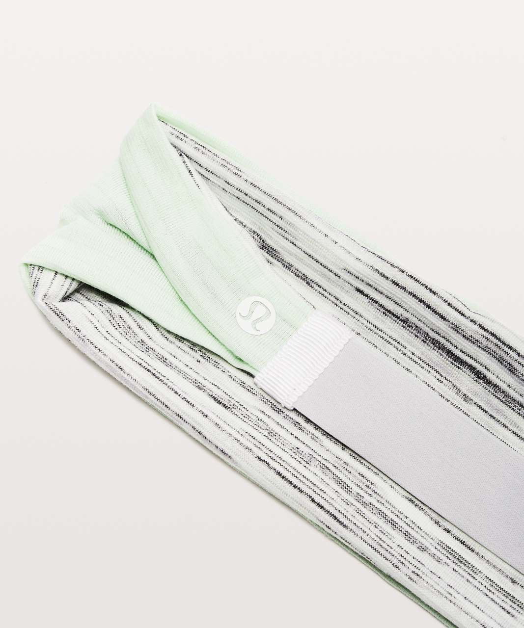 Lululemon Fringe Fighter Headband - Heathered Citrus Ice / Space Dye Camo White Silver Spoon