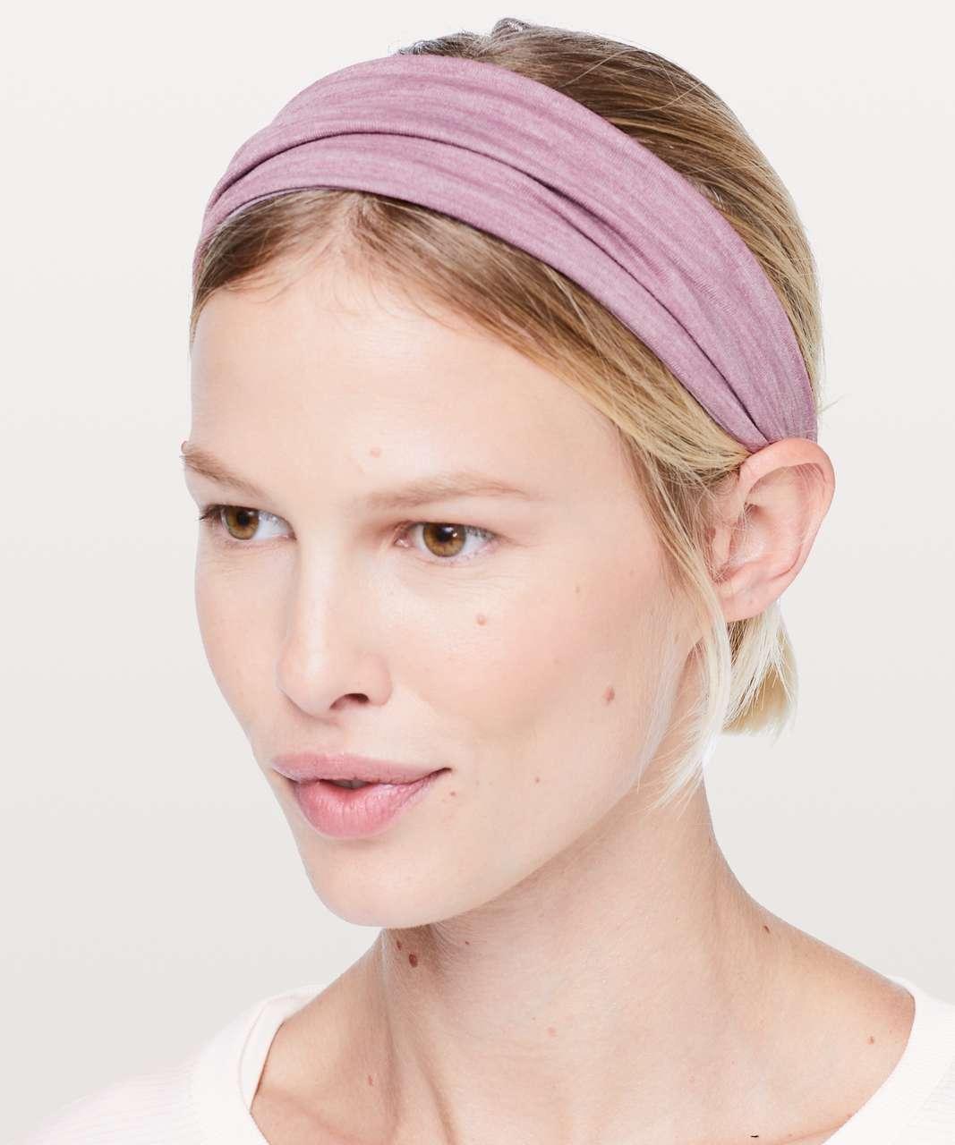 Lululemon Fringe Fighter Headband - Heathered Antoinette / Heathered Figue