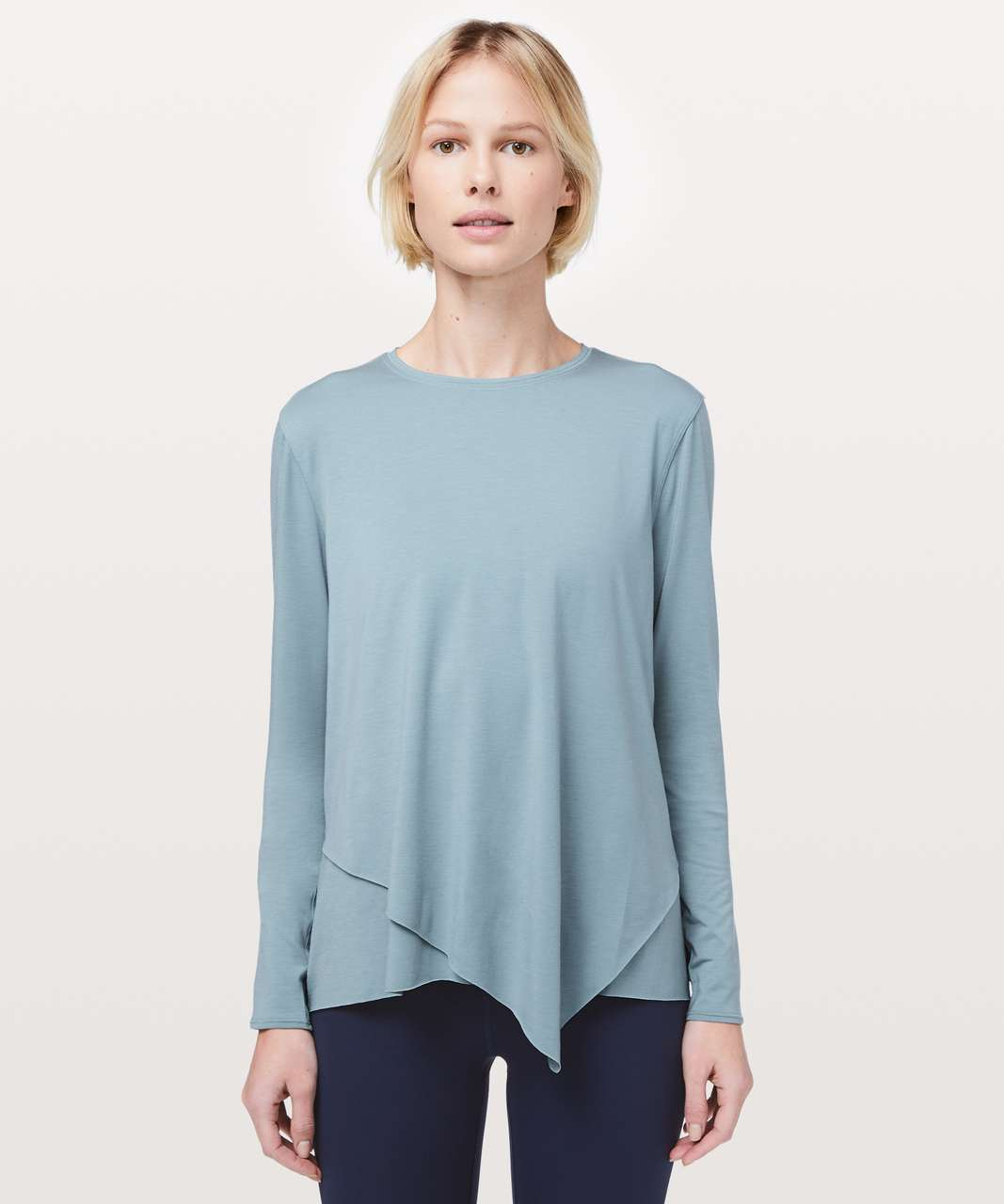 Lululemon Sweetest Day Long Sleeve *Tencel - Blue Cast