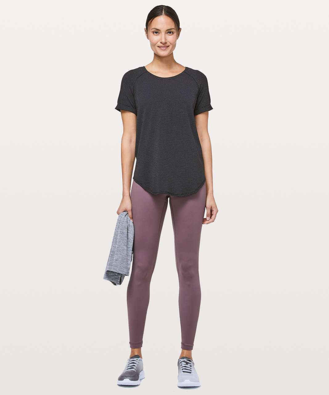 Lululemon Open Up Tie Back Tee - Black (First Release)
