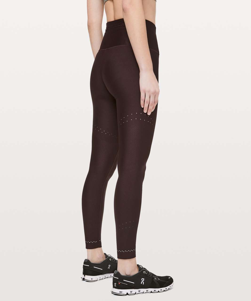 "Lululemon Zoned In Tight *27"" - Plum Shadow"