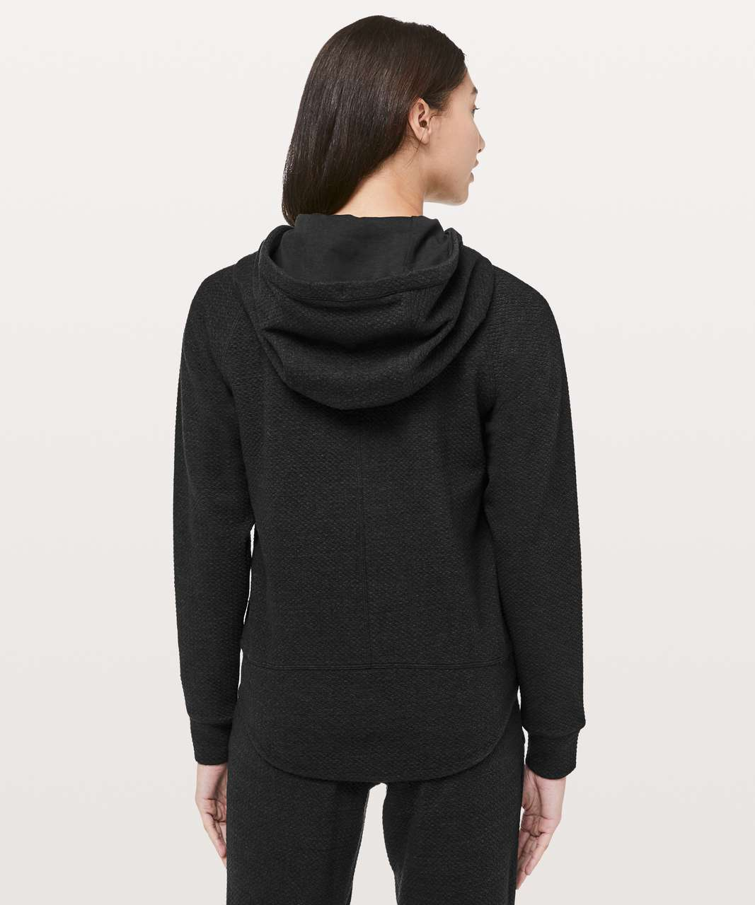 Lululemon Catch A Moment Zip Hoodie - Heathered Core Black