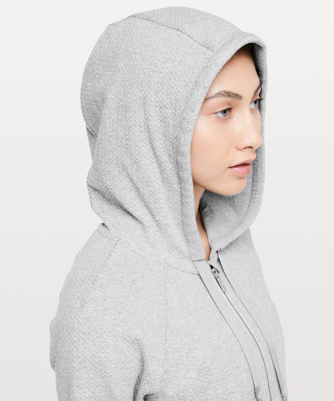 Lululemon Catch A Moment Zip Hoodie - Heathered Core Light Grey