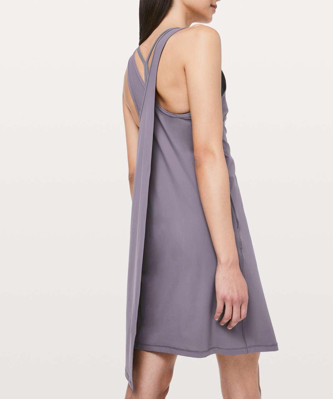 Lululemon Early Morning Dress - Graphite Purple