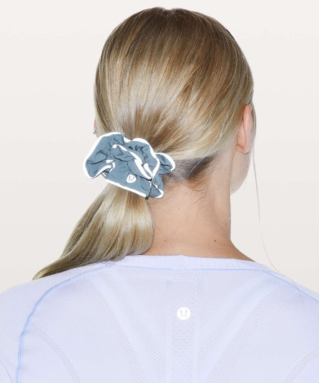 Lululemon Light Locks Scrunchie - Utility Blue