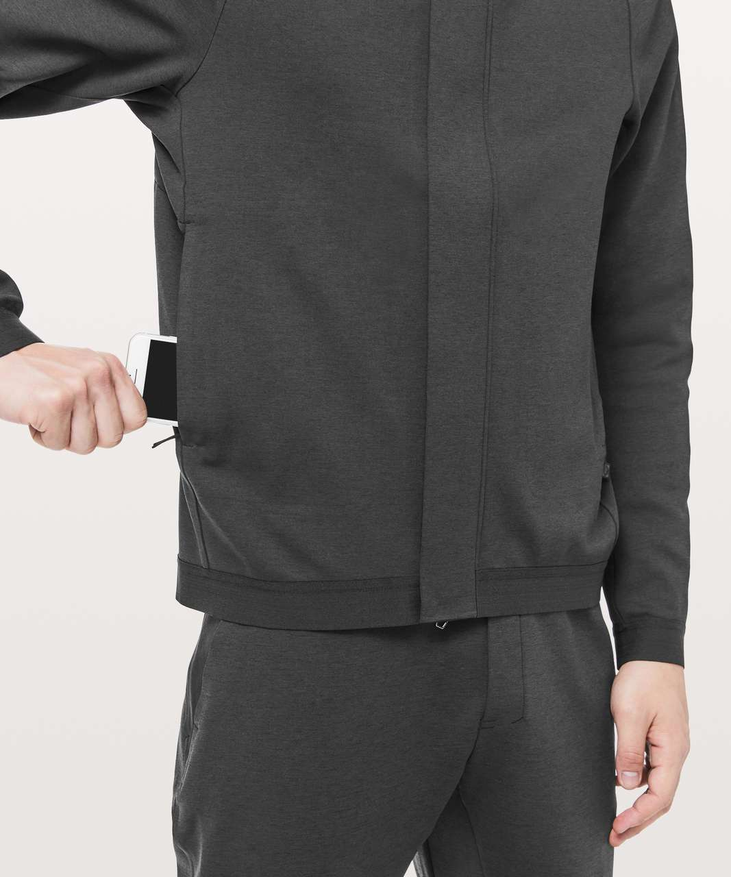 Lululemon Diffract Full Zip Hoodie *lululemon lab - Deep Coal