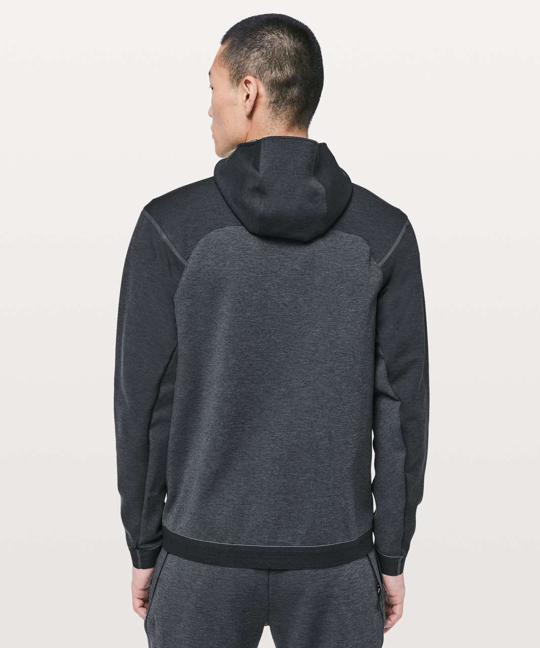 Lululemon Diffract Full Zip Hoodie *lululemon lab - Mystic Green / Mercury Marine