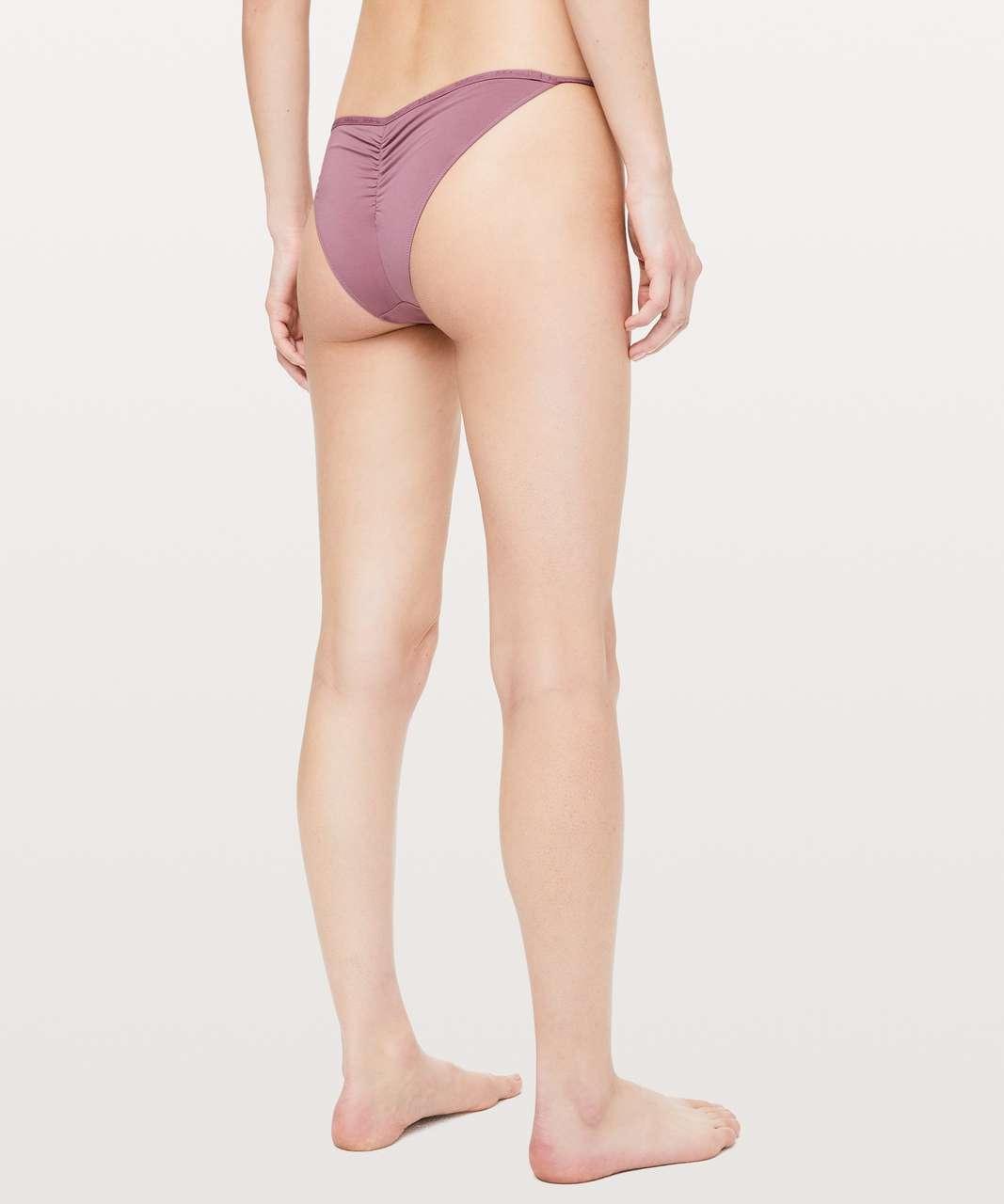 Lululemon Simply There Cheeky Bikini - Figue