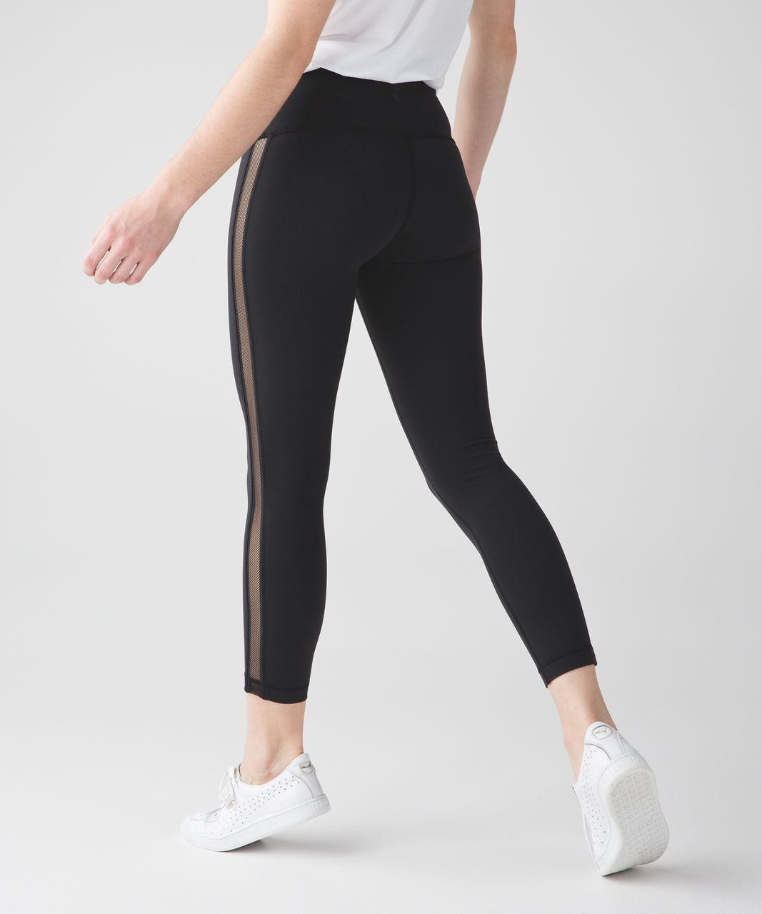 Lululemon High Times Pant (Wing Mesh) - Black