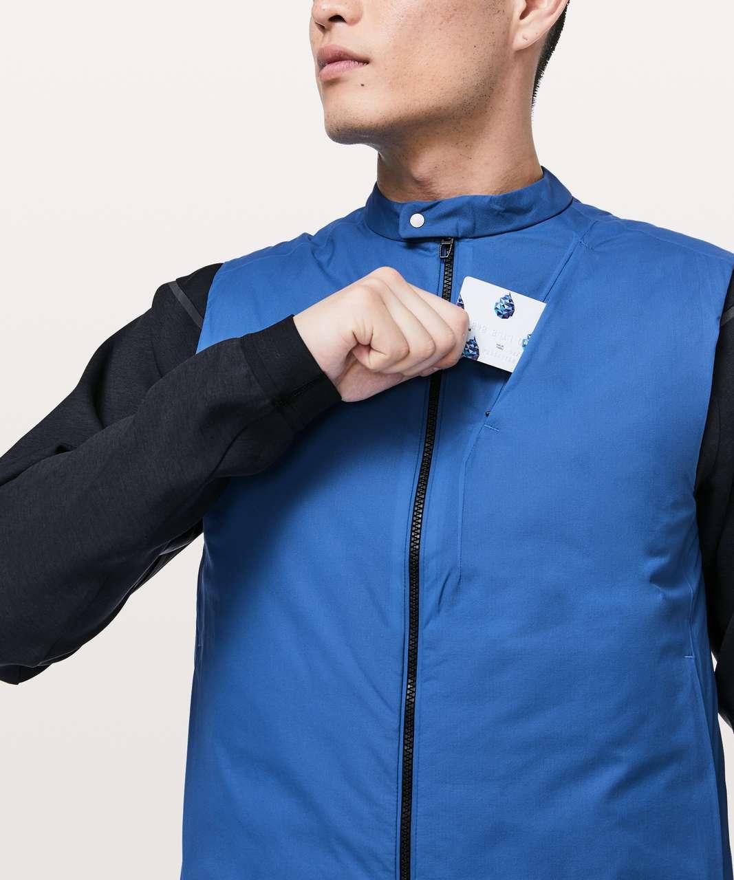 Lululemon Accedo Vest *Reversible lululemon Lab - Chromatic Blue / Black