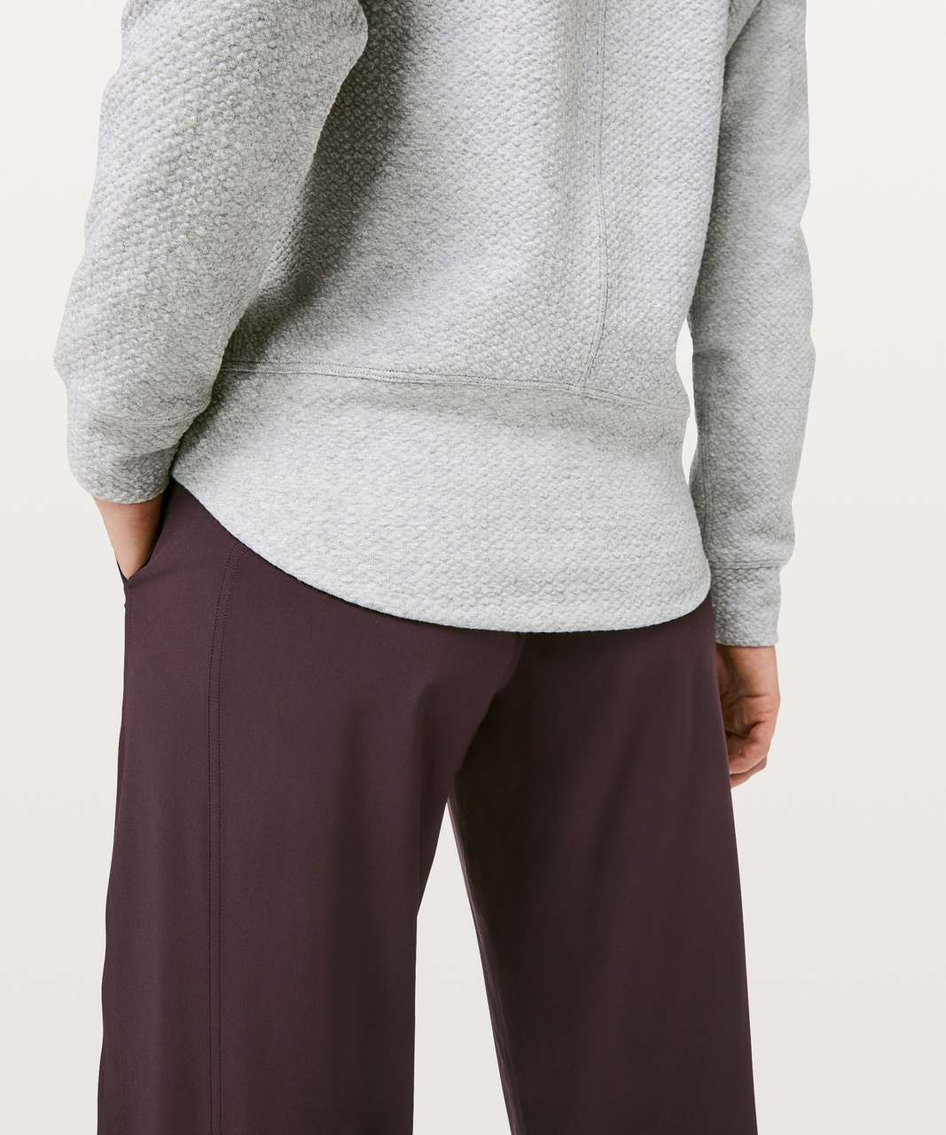 Lululemon Catch A Moment Crew - Heathered Core Light Grey