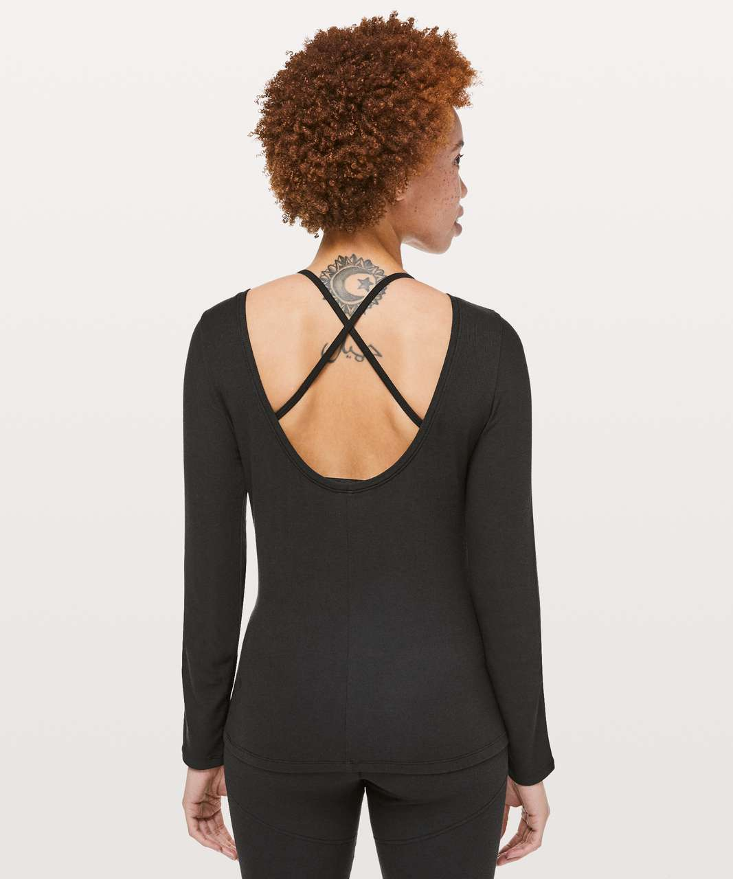 Lululemon Still Long Sleeve *lululemon lab - Black