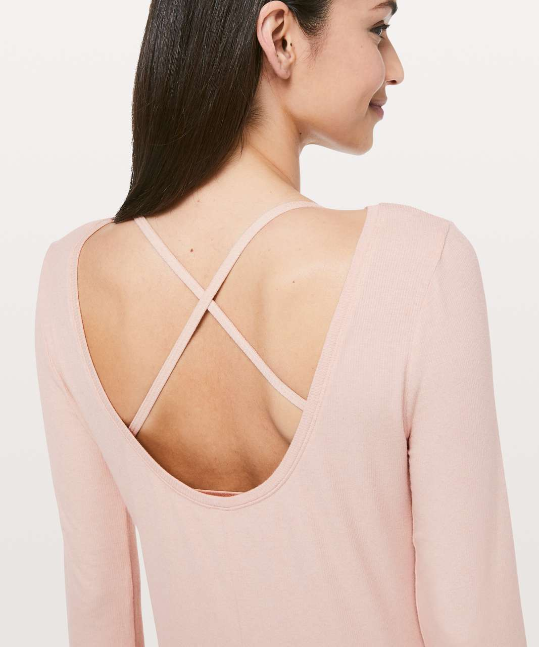 Lululemon Still Long Sleeve *lululemon lab - Grain
