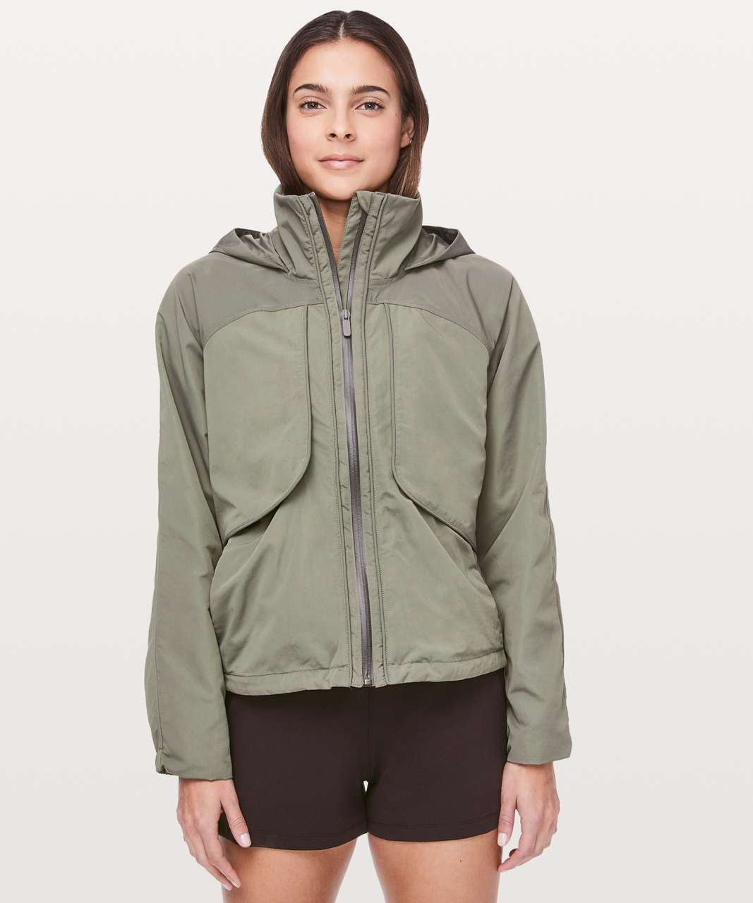 Lululemon Always Effortless Jacket - Grey Sage