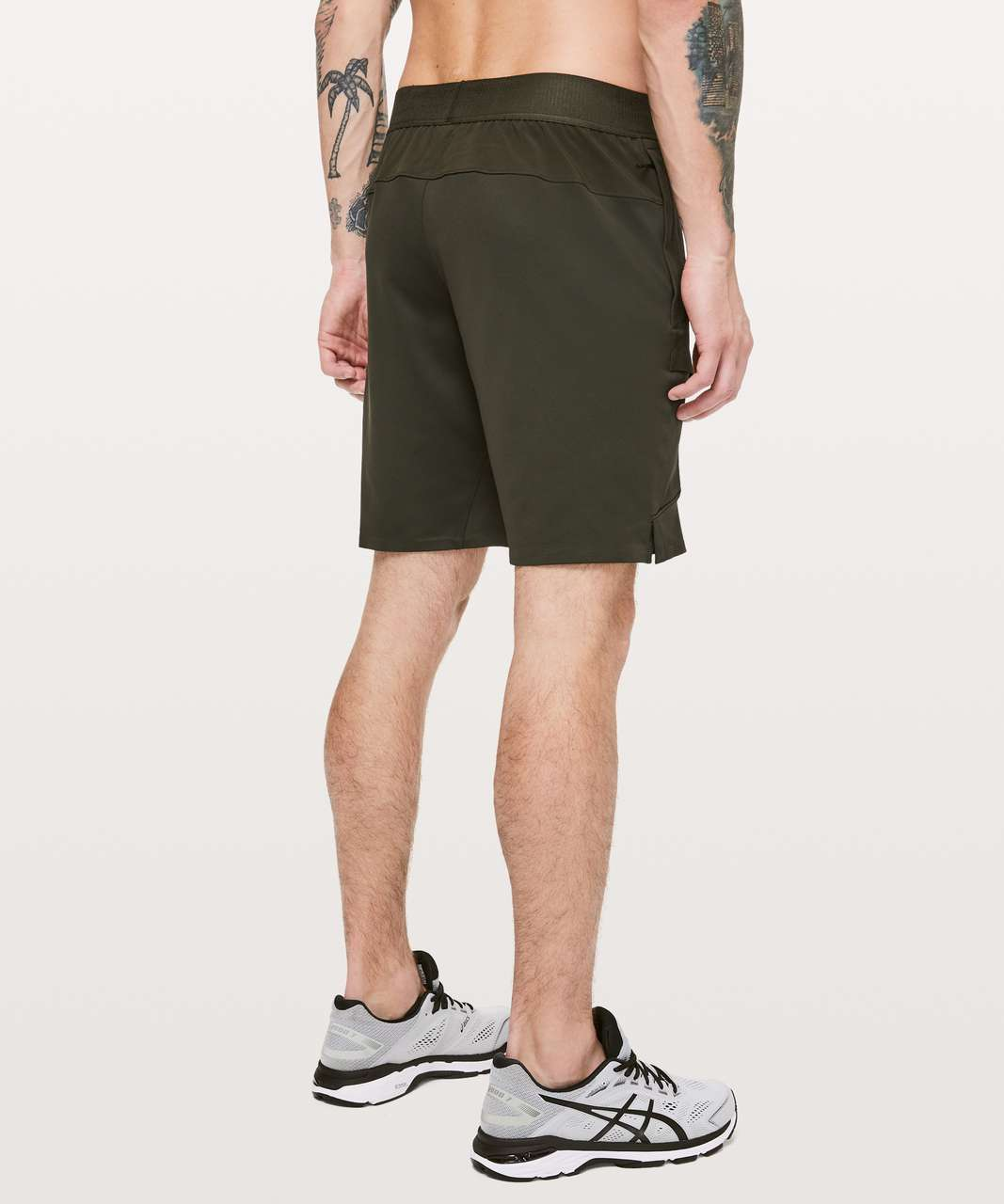 "Lululemon Cross Challenger Short *9"" - Dark Olive"