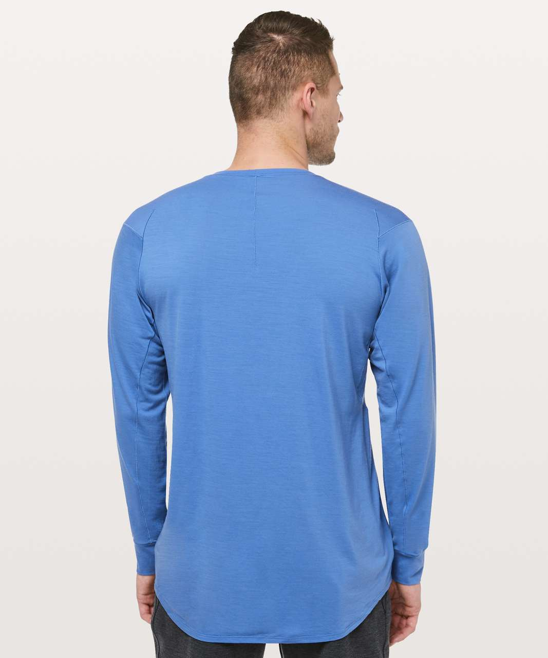 Lululemon Diffract Long Sleeve *lululemon Lab - Chromatic Blue