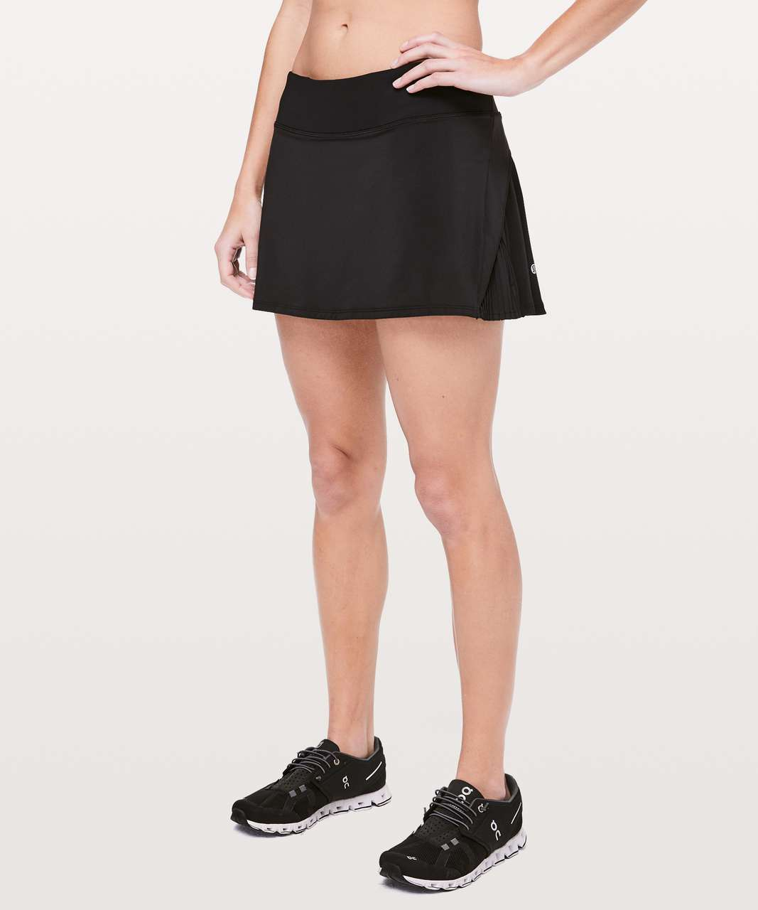"Lululemon Play Off The Pleats Skirt *13"" - Black"