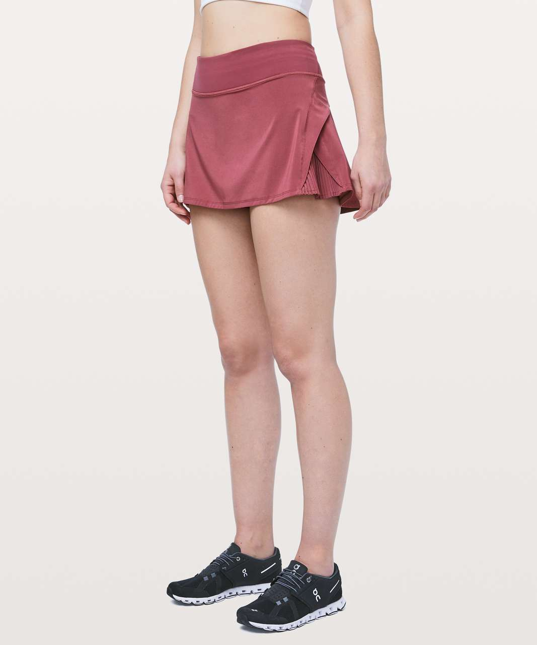 "Lululemon Play Off The Pleats Skirt *13"" - Misty Merlot"