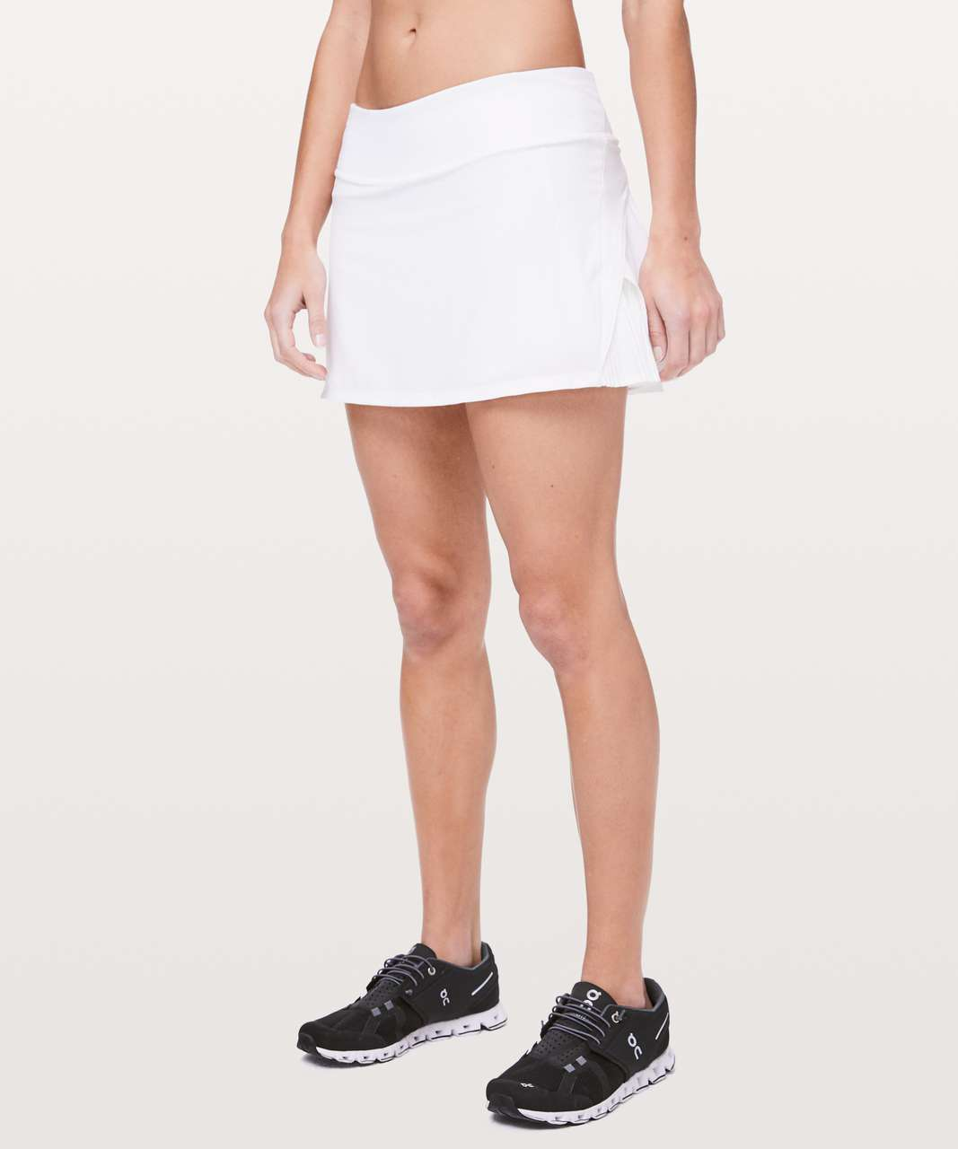 "Lululemon Play Off The Pleats Skirt *13"" - White"