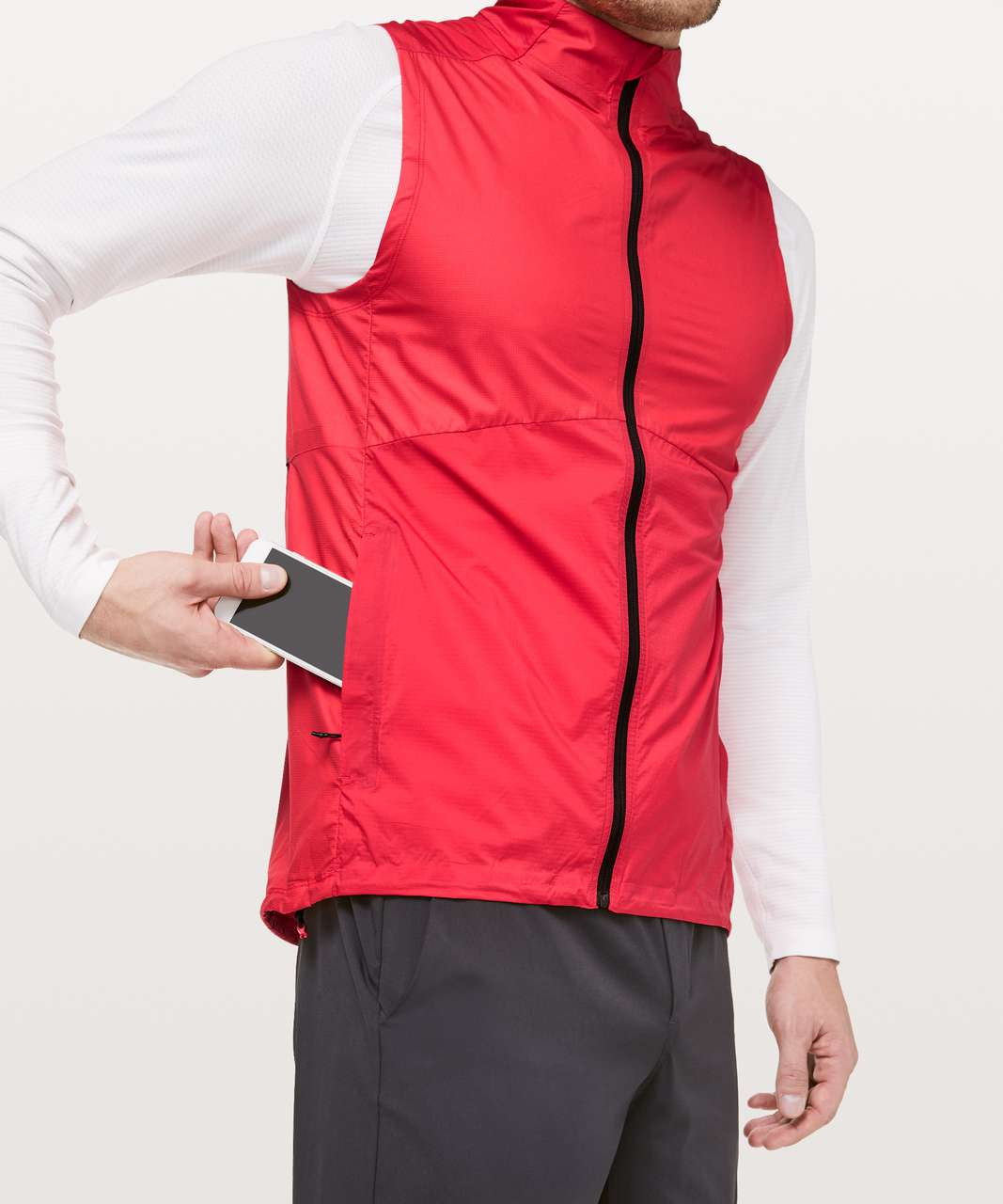 Lululemon Active Vest - Spicy Red