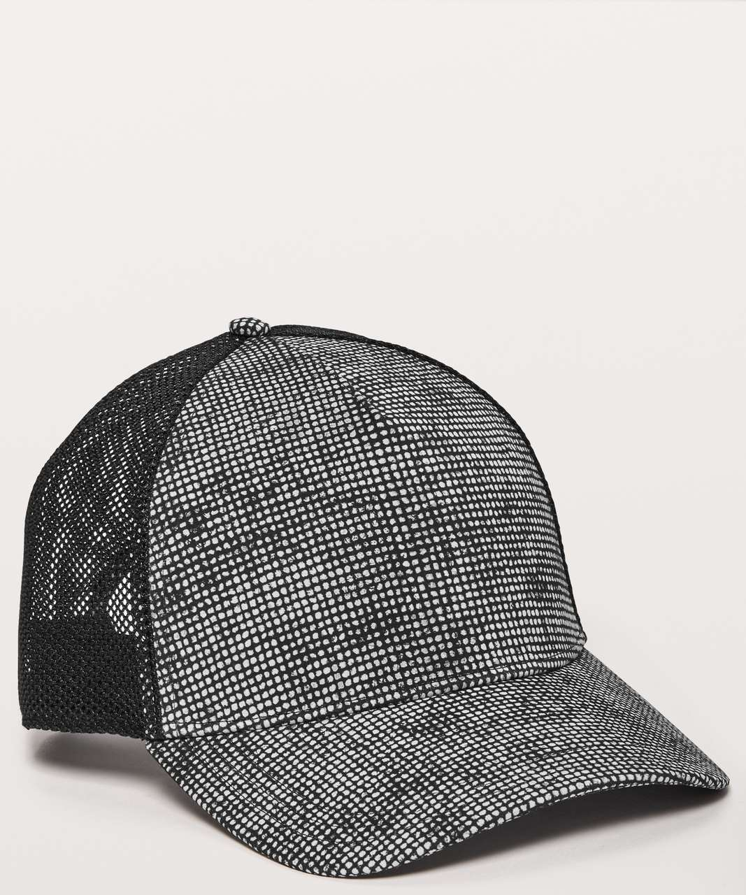 Lululemon Commission Hat - Cubed Ice Grey Black / Black