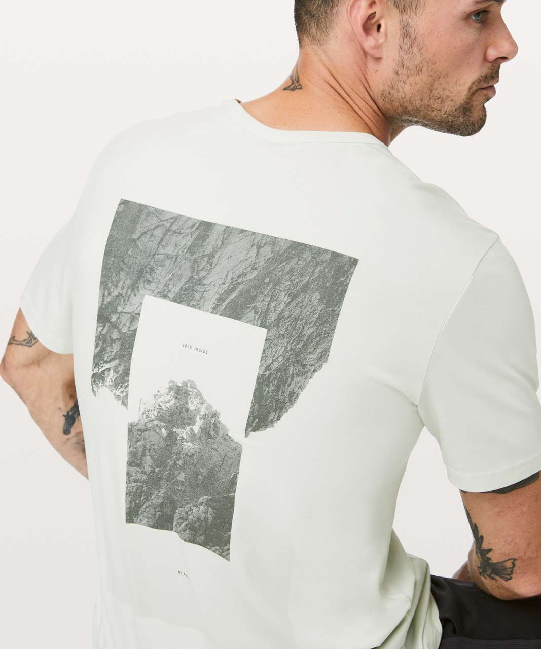 Lululemon 5 Year Basic Tee *Graphic - Ocean Mist